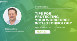 Webinar on Protecting Workforce with Technology